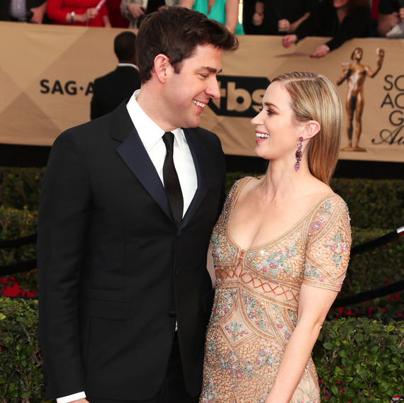 Image result for emily Blunt and john krasinski