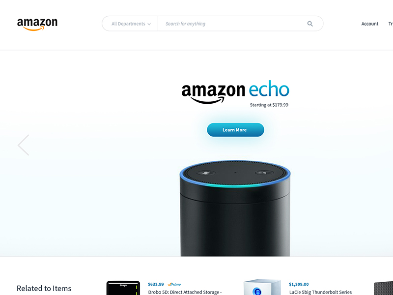 Redesign Amazon Echo