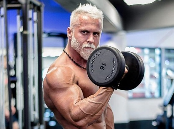 Why This 35 Year Old Man Looks 60 And Jacked Mens Health