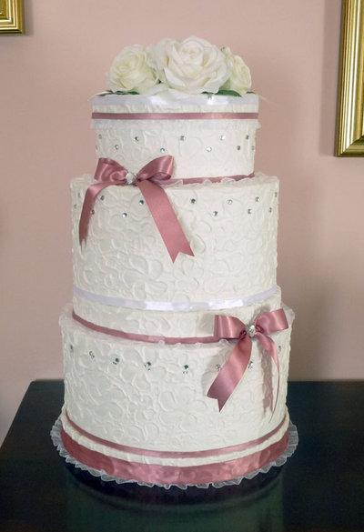 Torta Portabuste O Decorative Per Matrimonio Cerimonie