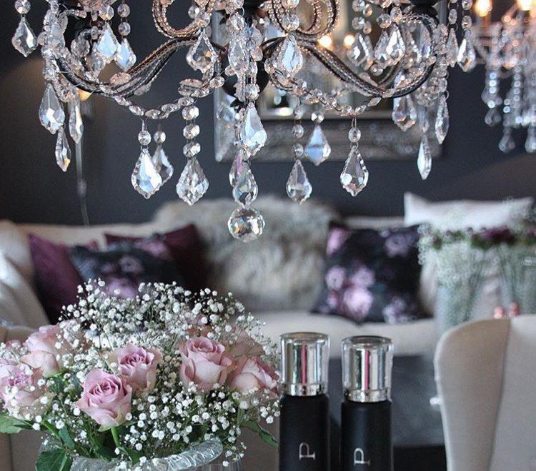 Homcom lampadario moderno a sospensione in cristallo con altezza regolabile, 44 pendenti in vetro, illuminazione per casa e ufficio. Cristalli Pendenti Ricambi Per Lampadari In Vetro Swarovski Per Su Misshobby