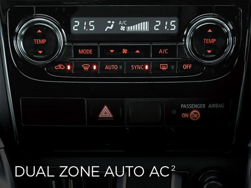 Dual Zone Automatic AC