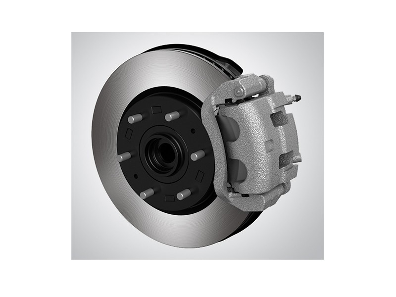 Front Ventilated Disc Brakes