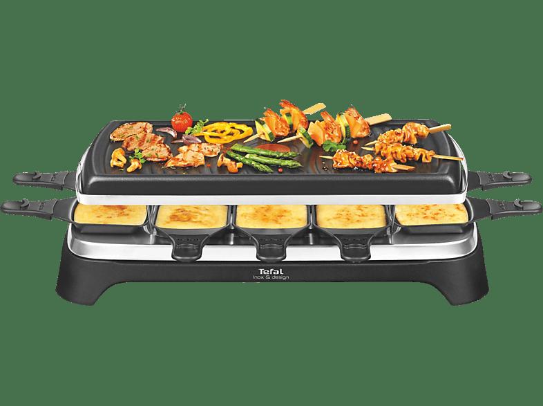 tefal raclette grill 10 re 4588 schwarz online kaufen mediamarkt