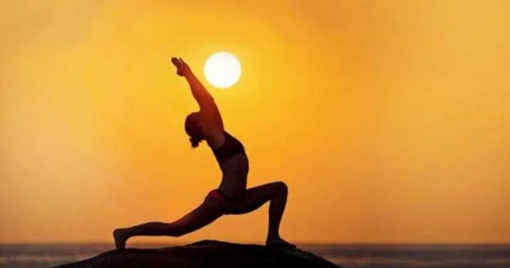 International Yoga Day Shiny Poses