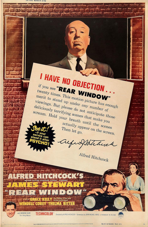 movie poster of the week rear window