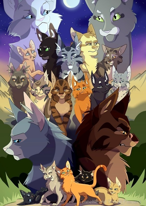 warriors cats fan casting on mycast