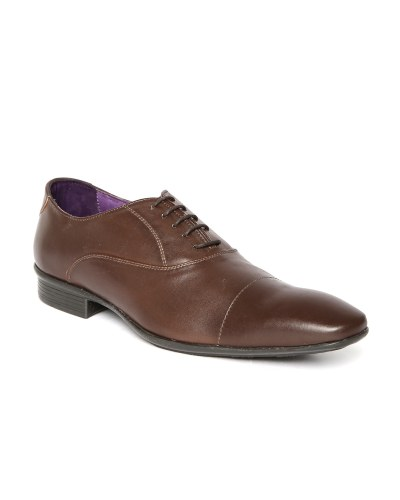Arden by Knotty Derby Men Coffee Brown Formal Shoes