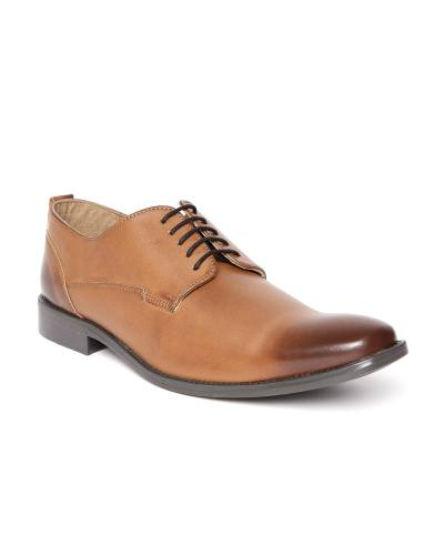 Knotty Derby by Arden Men Tan Brown Formal Shoes