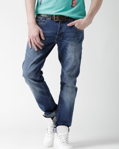 ALCOTT Blue Washed Skinny Jeans