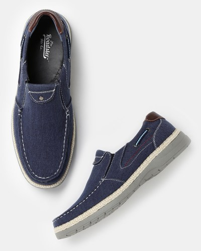 Roadster Men Navy Loafers