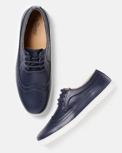 Roadster Men Navy Brogues