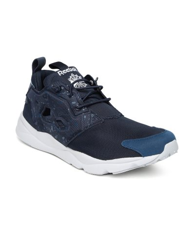 Reebok Men Navy Blue FURYLITE Running Shoes