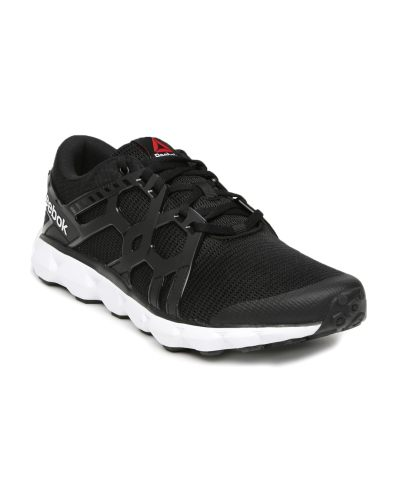 Reebok Men Black Hexaaffect Run 4.0 MTM Running Shoes