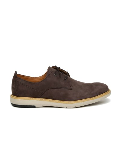 Clarks Men Brown Nubuck Leather Casual Shoes