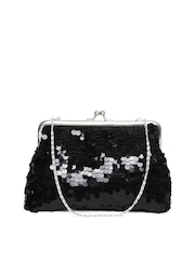 D Muse by DressBerry Black Sequin Purse