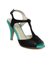 DressBerry Women Black Sandals