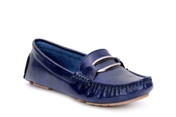 Bruno Manetti Women Blue Loafers