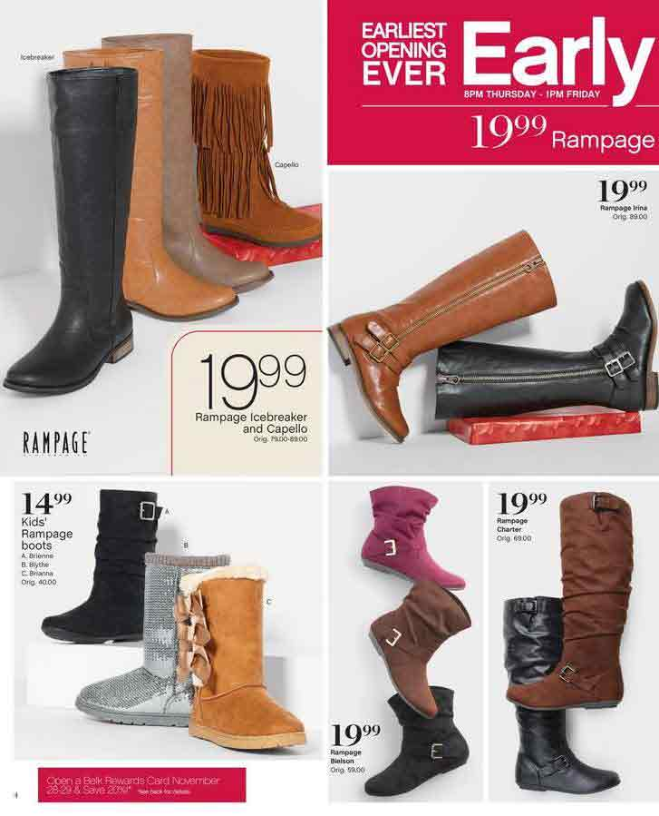 Belk Black Sale Boot Friday