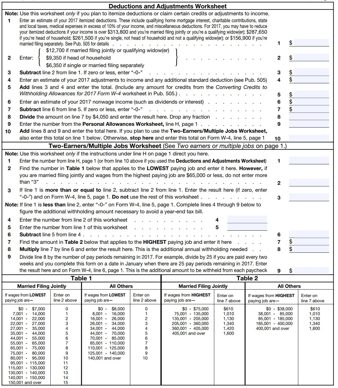 How To Fill Out A W 4 Form And Decide How Much To Claim