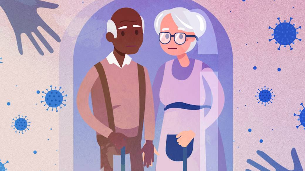 Click to play video: 'Alone and Apart: Seniors coping with loneliness during the pandemic'