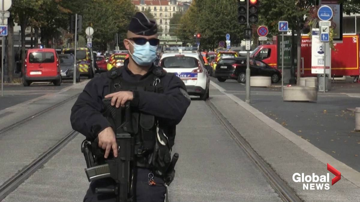 Click to watch the video 'Nice attack: 3 killed in suspected terrorist attack in Nice, France'