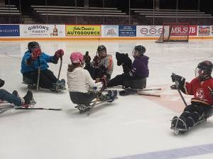 Kawartha Blazers sledge hockey team invites the public to try out the sport