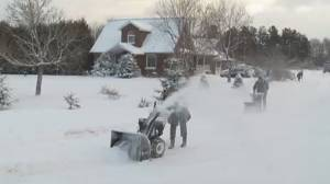 Another blast of winter hits Peterborough and area