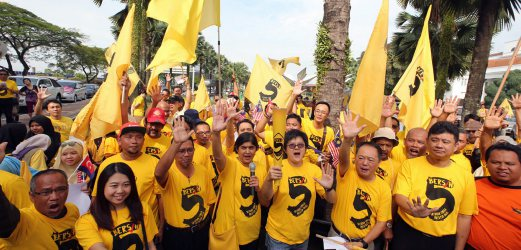 Image result for BERSIH and Foreigners