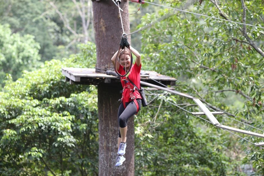 Places To Burn Calories, skytrex