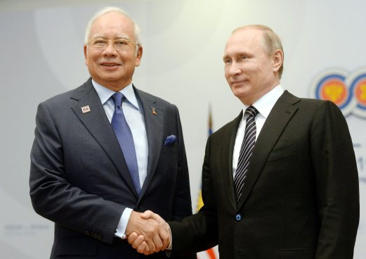 Image result for Trump, Putin and Najib