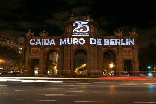 WW1, Berlin Wall Fall and Drama - Berlin wall fall anniversary in Madrid