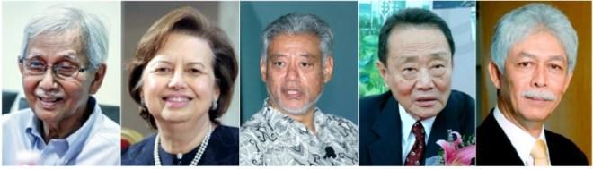 Kết quả hình ảnh cho Robert Kuok Mahathir Mohamad