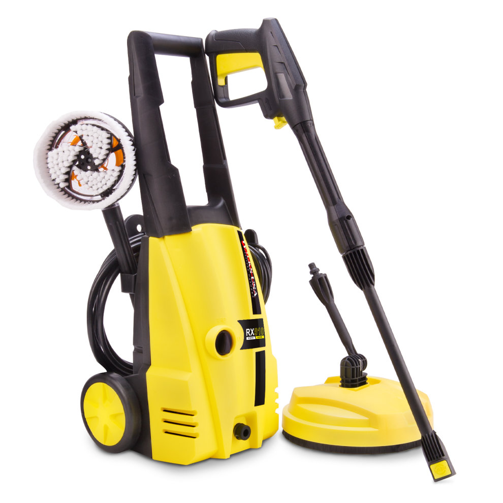 wilks usa rx510 electric pressure washer 1950psi jet washer driveway patio cleaner