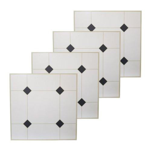 floor tiles self adhesive grey black off white vinyl flooring kitchen bathroom