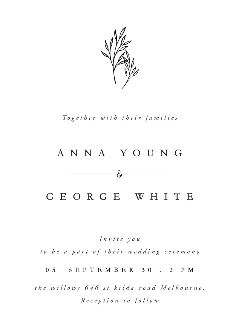 wedding invitations by paperlust