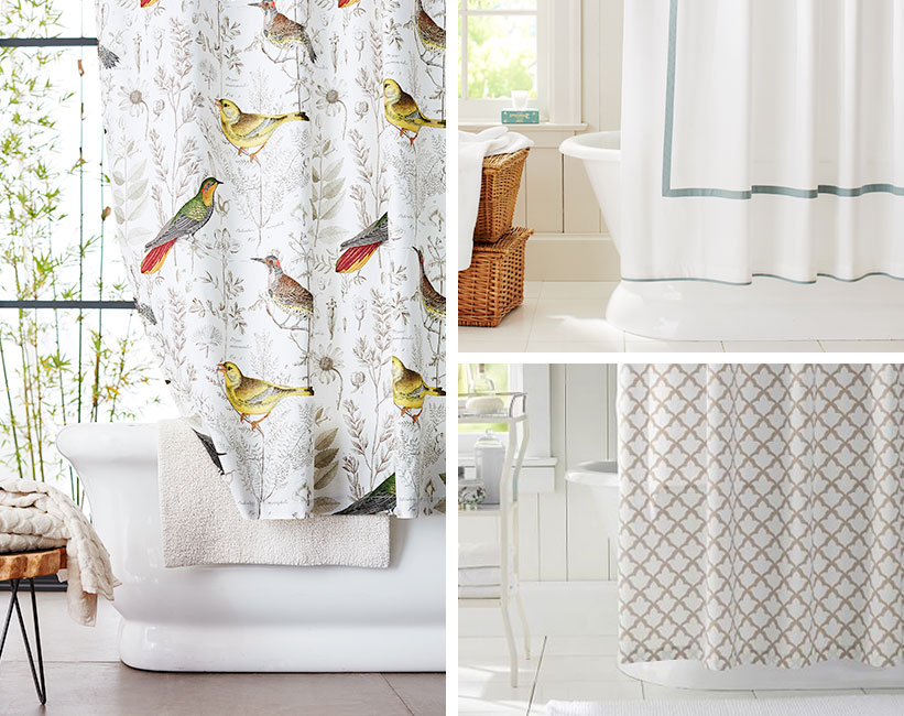 right shower curtain for your shower