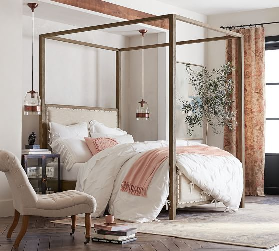 toulouse canopy bed wooden beds