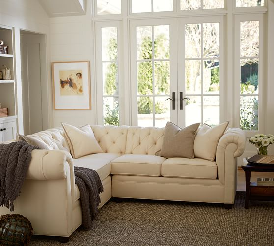 build your own chesterfield upholstered sectional components
