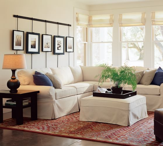 build your own pb basic sectional component slipcovers