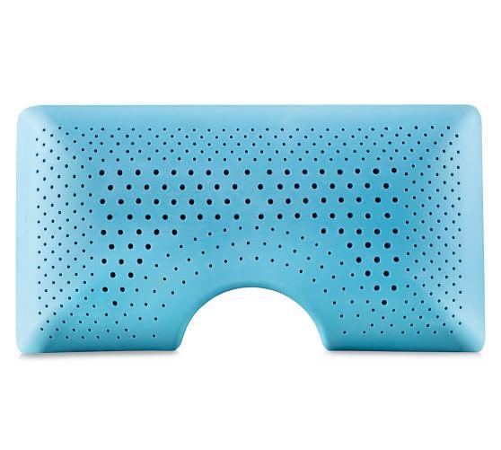 malouf z zoned shoulder cutout gel dough pillow