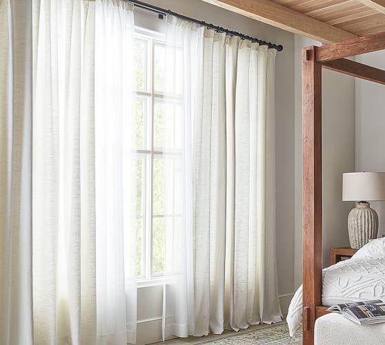 antique bronze double curtain rod wall bracket