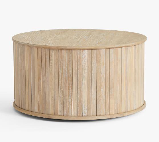 arlo 31 tambour round storage coffee