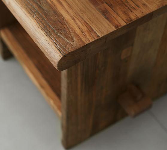 easton 24 reclaimed wood end table