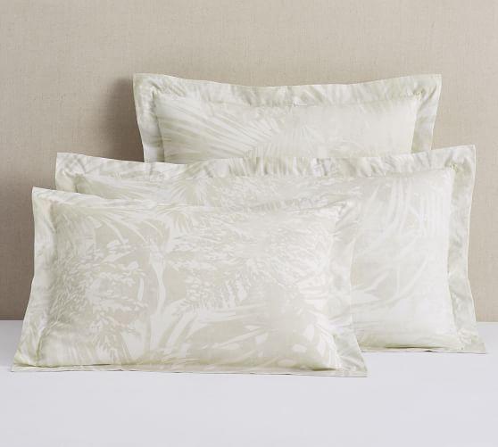 layla palm organic cotton sham