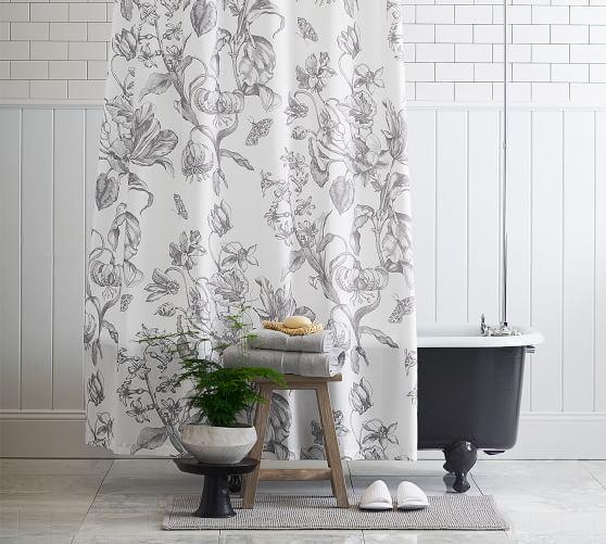 pippa organic shower curtain