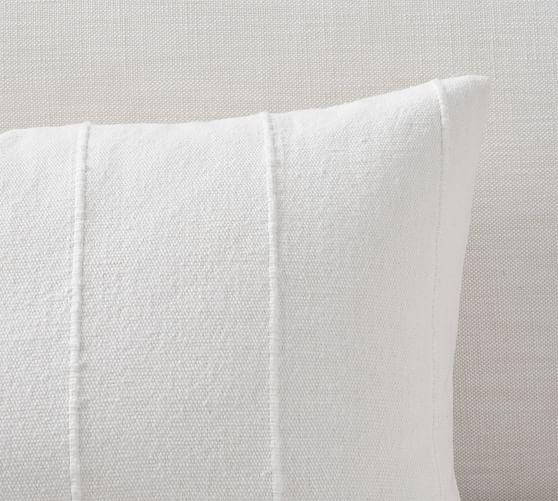 mudcloth flax lumbar pillow covers