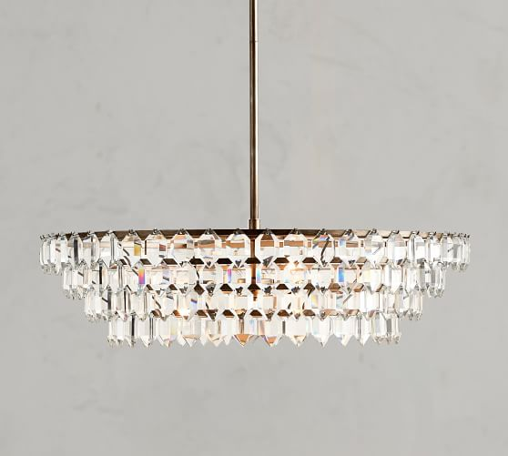 alma crystal chandelier