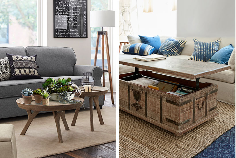 4 unconventional coffee table ideas