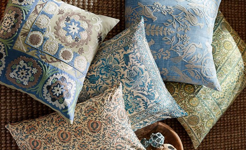 to spot clean decorative throw pillows